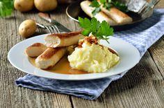 Receita: Salsicha alemã com purê de maçã e zimbro, por José Barattino