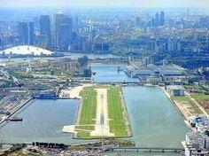 LONDON CITY AIRPORT | SILVERTOWN | LONDON BOROUGH OF NEWHAM | LONDON | ENGLAND: *LCY; 1 Passenger Terminal; 1 Runway*
