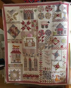 Foxley Village by Natalie Bird as featured in Homespun Magazine 2016