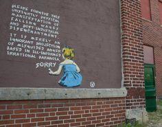 Street artist Vinchen