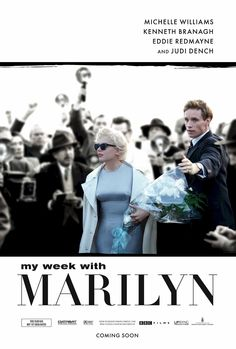 My Week with Marilyn , starring Michelle Williams, Eddie Redmayne, Kenneth Branagh, Julia Ormond. Colin Clark, an employee of Sir Laurence Olivier's, documents the tense interaction between Olivier and Marilyn Monroe during production of The Prince and the Showgirl. #Biography #Drama