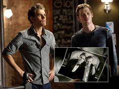 The Vampire Diaries - The Stefan/Klaus Bromance - TV Guide's Best Twists of the Season