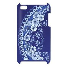 Blue Rhapsody Itouch4 Case by Patricia Shea Designs on #CafePress