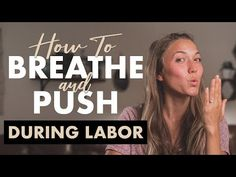 How to Breathe and Push During Labor Lamaze Breathing, Breathing Techniques For Labor, Anti Nausea, Baby Sounds, Pregnancy Must Haves, Ob Nursing, Birth Doula, Mindfulness For Kids, Natural Pain Relief