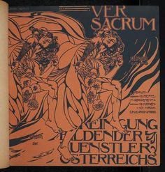 Ver Sacrum Magazine, January 1898