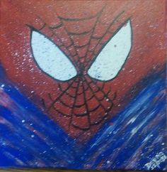 Abstract Spiderman for Baby Boy.