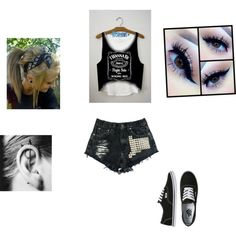 Untitled #237 by stephduque on Polyvore featuring polyvore fashion style Vans