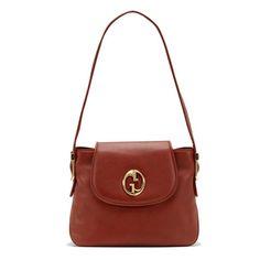 Gucci 1973 Medium Shoulder Bag 251809 Red