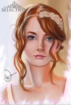 Beautiful fanart of Queen America Schreave Kiera Cass Books, Percy Jackson, The Selection Book, Fantasy Magic, Maxon Schreave, Tribute Von Panem, The Infernal Devices, Lunar Chronicles, Ya Books