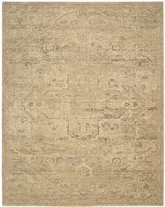 Nourison - Nourison Silk Elements Ske14 Sand Area Rug #108310