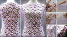 Crochet Women's Blouse