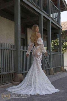 Berta Portfolio 2021 Spring Bridal Collection – The FashionBrides Berta Bridal, Bridal Gowns, Wedding Gowns, Fit And Flare Wedding Dress, Perfect Wedding Dress, Wedding Pics, Dream Wedding, Wedding Ideas, Wedding Stuff