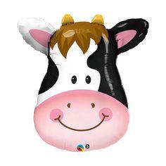 """Jumbo 32"""" Cow Balloo"""