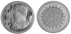 10€  2015 plata Arquímedes