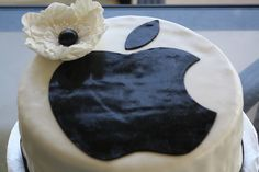 Apple Birthday Cake for Joey on his bday :) Computer Cake, Apple Birthday, Cake Toppings, Party Time, My Favorite Things, Birthday Cakes, How To Make, Trends, Food