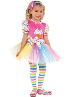 Toddler Girls Lil' Cupcake Cutie Costume - Party City