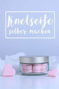 Last Minute Gifts - Knetseife selber machen Homemade Beauty, Homemade Gifts, Diy Gifts, Diy Beauté, Diy Spa, Diy For Kids, Crafts For Kids, Belleza Diy, Homemade Cosmetics