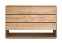 Ethnicraft Oak Nordic Chest of Drawers - Curious Grace