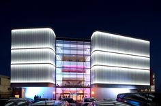 Lighting Design and Light Art Magazine Image    Lancashire County Cricket Club The Point by BDP 1 Facade Photo by David Barbour BDP Medium