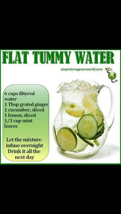 I would recommend this detox for a day or two max. Water detox for flat tummy Healthy Drinks, Get Healthy, Healthy Tips, Healthy Choices, Healthy Snacks, Healthy Water, Healthy Weight, Healthy Detox, Infused Water Recipes