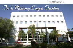 Edificio de Ingenierías y Tecnologías de Información del Tecnólogico de Monterrey Campus Querétaro