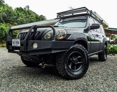 Hyundai Terracan off road bullbar 4x4