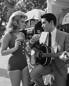 Elvis and Ann Margaret from Viva Las Vegas