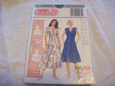 Burda 4281 Dress to fit patterns. Pattern in by stephaniesyarn