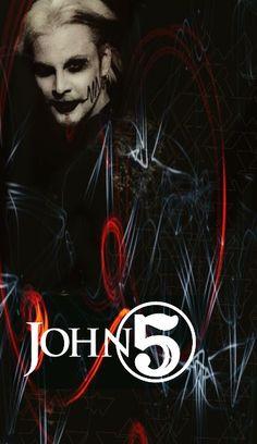 John 5 my creation The Stranger Movie, White Zombie, Tv Icon, John 5, Rob Zombie, Marilyn Manson, Heavy Metal, Rock And Roll, Authors