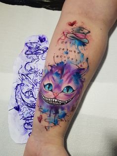 Tattoo Fixes, P Tattoo, Wrist Tattoos, Tattoo Shop, Flower Tattoos, Body Art Tattoos, Small Tattoos, Cool Tattoos, Cheshire Cat Tattoo