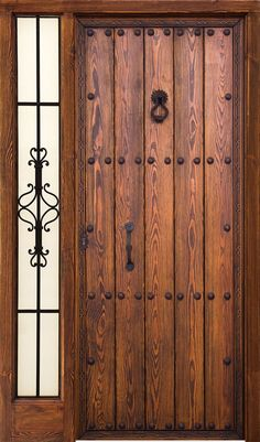 Great front door ideas for your home. Main Entrance Door Design, Door Gate Design, Entrance Doors, Rustic Doors, Wood Doors, The Doors, Windows And Doors, Medieval Door, Internal Wooden Doors