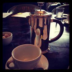Morning coffee time