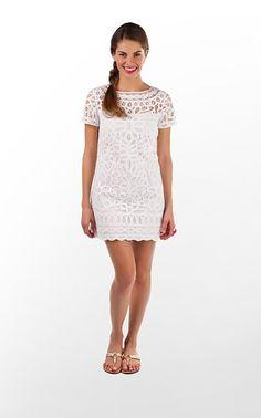 lilly pulitzer white summer dress