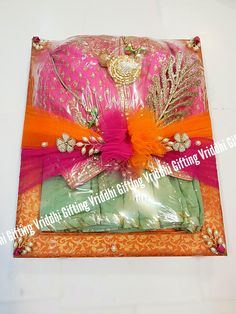 wedding gifts for guests ; wedding gifts for bride and groom ; wedding gifts for parents ; wedding gifts for couple ; wedding gifts for bride ; wedding gifts for groom Indian Wedding Gifts, Desi Wedding Decor, Diy Wedding Decorations, Wedding Gift Wrapping, Creative Gift Wrapping, Wrapping Ideas, Wedding Cards, Wedding Invitations Diy Handmade, Diy Invitations