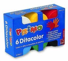 Zdjęcie Farby do malowania palcami 6 kolorów