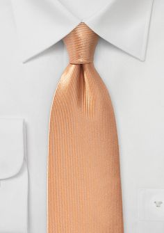 Corduroy Silk Tie in Caramel Cream