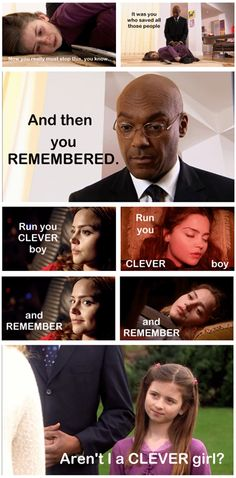 Cal/Clara Theory... It makes so much sense... Maybe... this was 'one of the versions' of Clara trying to save the doctor !