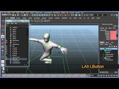 Basic bipedal character rigging setup in Maya - Part 6 of 8 - YouTube