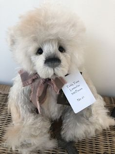 Tickly Toes Limited Edition Isabelle Collection Teddy Bear no 21 Charlie Bears, Teddy Bears, Hand Stitching, Bows, Crafts, Animals, Collection, Arches, Manualidades
