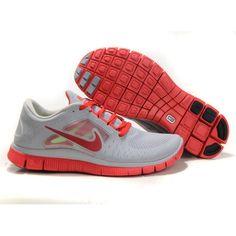 Herren Nike Free Run+ 3 Grau Rosa [N424483] - €66.35 : Nike free Run Kaufen Deutschland Schuhe, Kostenloser Versand