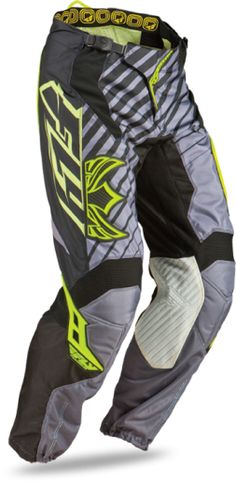 Motocross & Off-Road Gear CLEARANCE Fly Racing Kinetic Blocks Graphic Pants Red-Yellow ATV MX MOTO 28 30