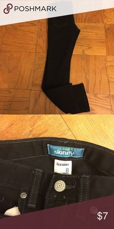 Black Old Navy skinny jeans worn once Old Navy Skinny jeans nice condition Old Navy Bottoms Jeans