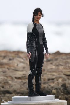 Catching Fire: Katniss in her new suit