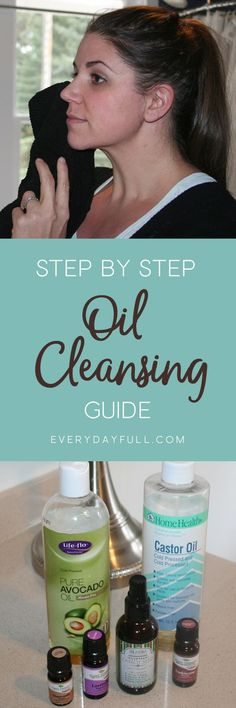 STEP BY STEP GUIDE TO THE OIL CLEANSING METHOD - Centuries old, this method will clean your pores, help reduce or eliminate acne, smooth fine lines and wrinkles and leave your skin feeling fresh and clean and years younger!