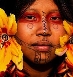 """""""Karaja woman. Brazil 2015 by Buda Mendes """""""