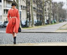 Coveting this coat! x    [Tommy Ton for style.com]