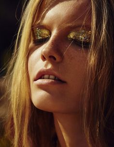 Glitter & Glam Rock eyes #loveandleather #justfaceit
