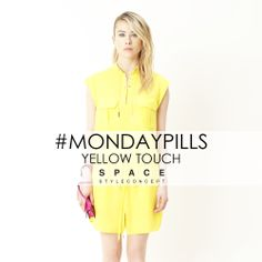 Let's start the week with a yellow touch by Space Style Concept.  #MondayPills