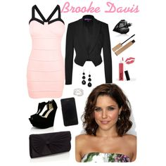 Brooke Davis style from One Tree Hill