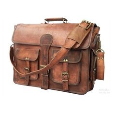 Check out this awesome Messenger Bags - cuero DHK 18 Inch Vintage Handmade Leather Messenger Bag for Laptop Briefcase Best Computer Satchel School Distressed Bag inch) Messenger Bag Herren, Brown Leather Messenger Bag, Leather Camera Bag, Laptop Messenger Bags, Laptop Briefcase, Leather Laptop Bag, Leather Briefcase, Leather Satchel, Men's Leather